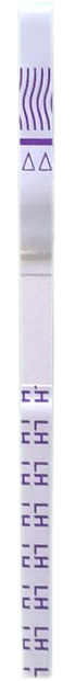 Ovulation test strip